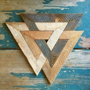 Affordable Geometric Wood Wall Art Design Ideas For Your Inspiration 43