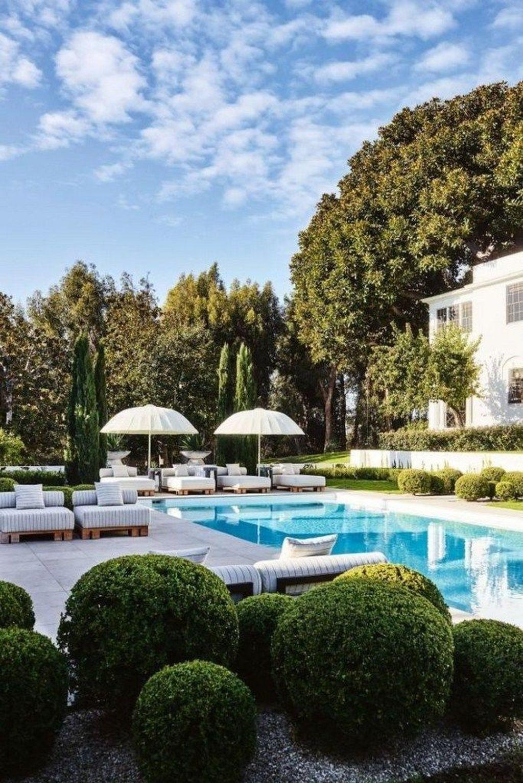Awesome Backyard Patio Ideas With Beautiful Pool 11