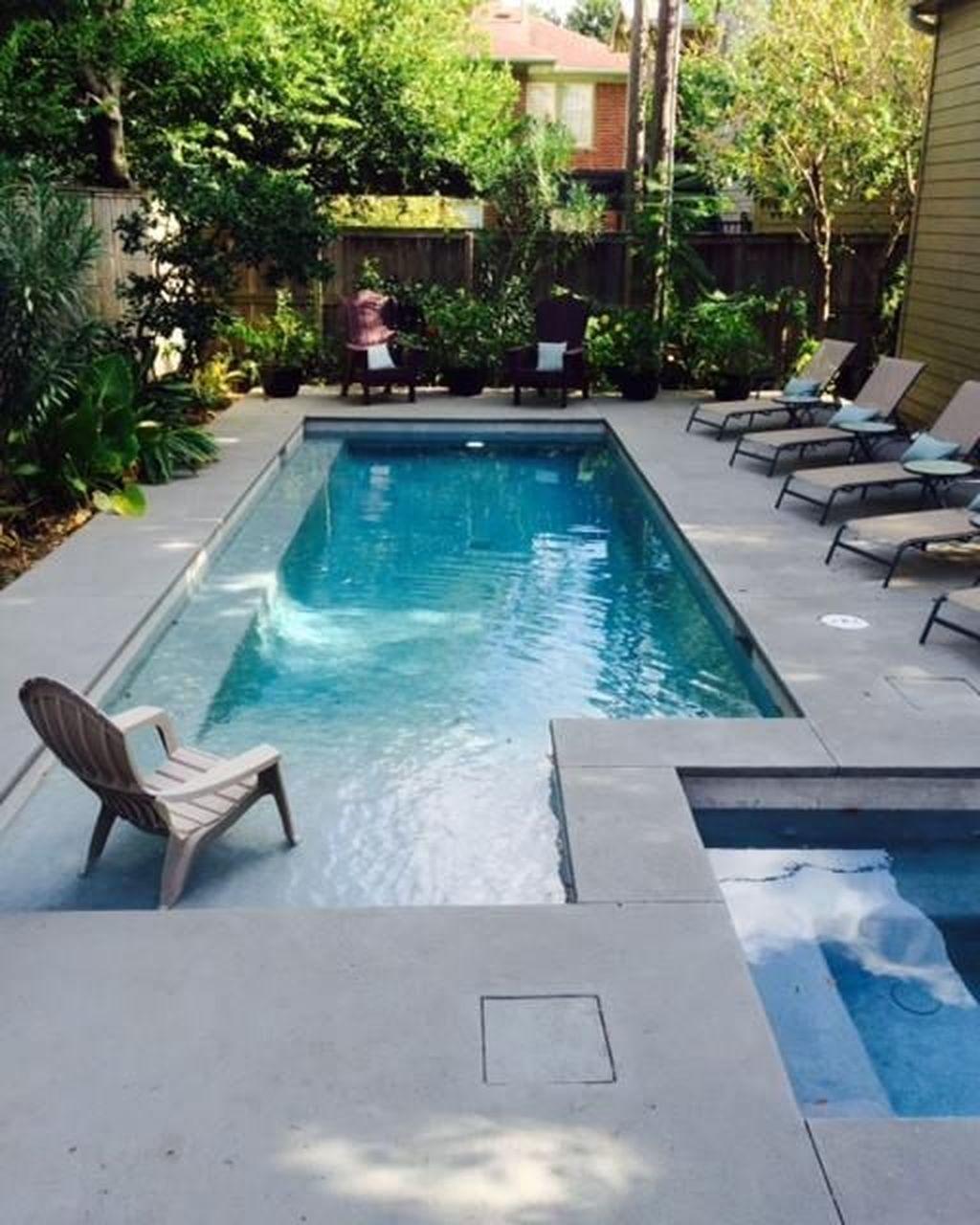Awesome Backyard Patio Ideas With Beautiful Pool 31