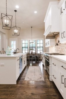 Awesome Farmhouse Kitchen Ideas On A Budget 14