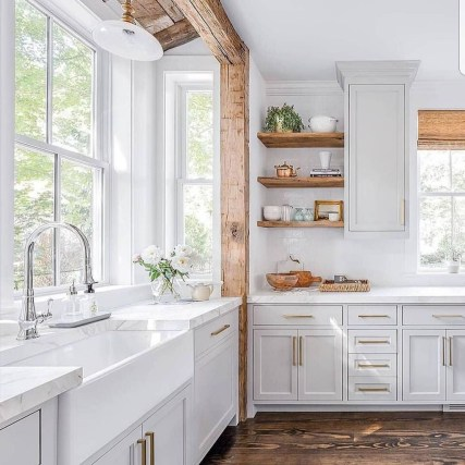 Awesome Farmhouse Kitchen Ideas On A Budget 17