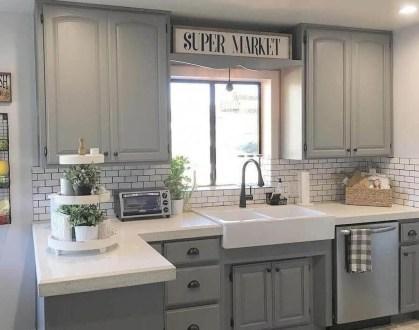 Awesome Farmhouse Kitchen Ideas On A Budget 25