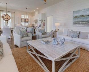 Best Coastal Living Room Decorating Ideas 20