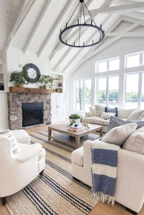 Best Coastal Living Room Decorating Ideas 42
