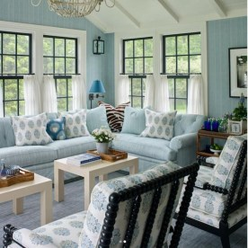 Best Coastal Living Room Decorating Ideas 48