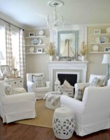 Best Coastal Living Room Decorating Ideas 49