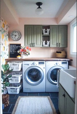 Best Small Laundry Room Design Ideas For Summer 2019 14