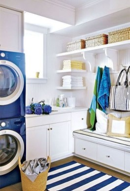 Best Small Laundry Room Design Ideas For Summer 2019 25