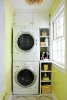 Best Small Laundry Room Design Ideas For Summer 2019 27