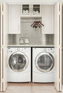 Best Small Laundry Room Design Ideas For Summer 2019 30