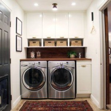 Best Small Laundry Room Design Ideas For Summer 2019 33