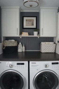 Best Small Laundry Room Design Ideas For Summer 2019 43