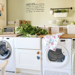 Best Small Laundry Room Design Ideas For Summer 2019 48