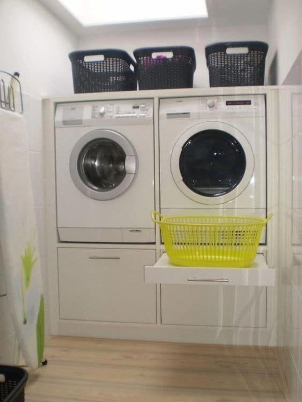 Best Small Laundry Room Design Ideas For Summer 2019 49