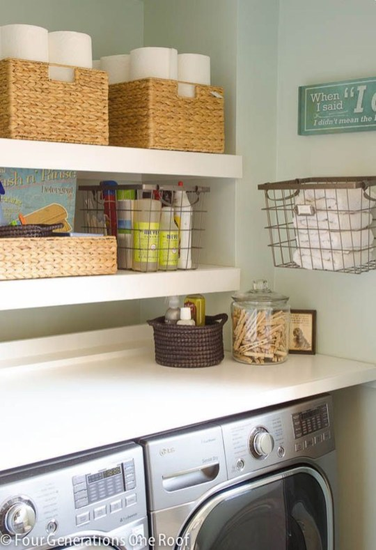 Best Small Laundry Room Design Ideas For Summer 2019 50