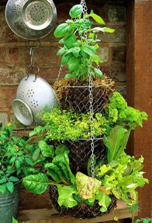 Chic Herb Garden Design And Remodel Ideas To Try Right Now 38