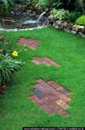 Classy Garden Path And Walkway Design And Remodel Ideas 18