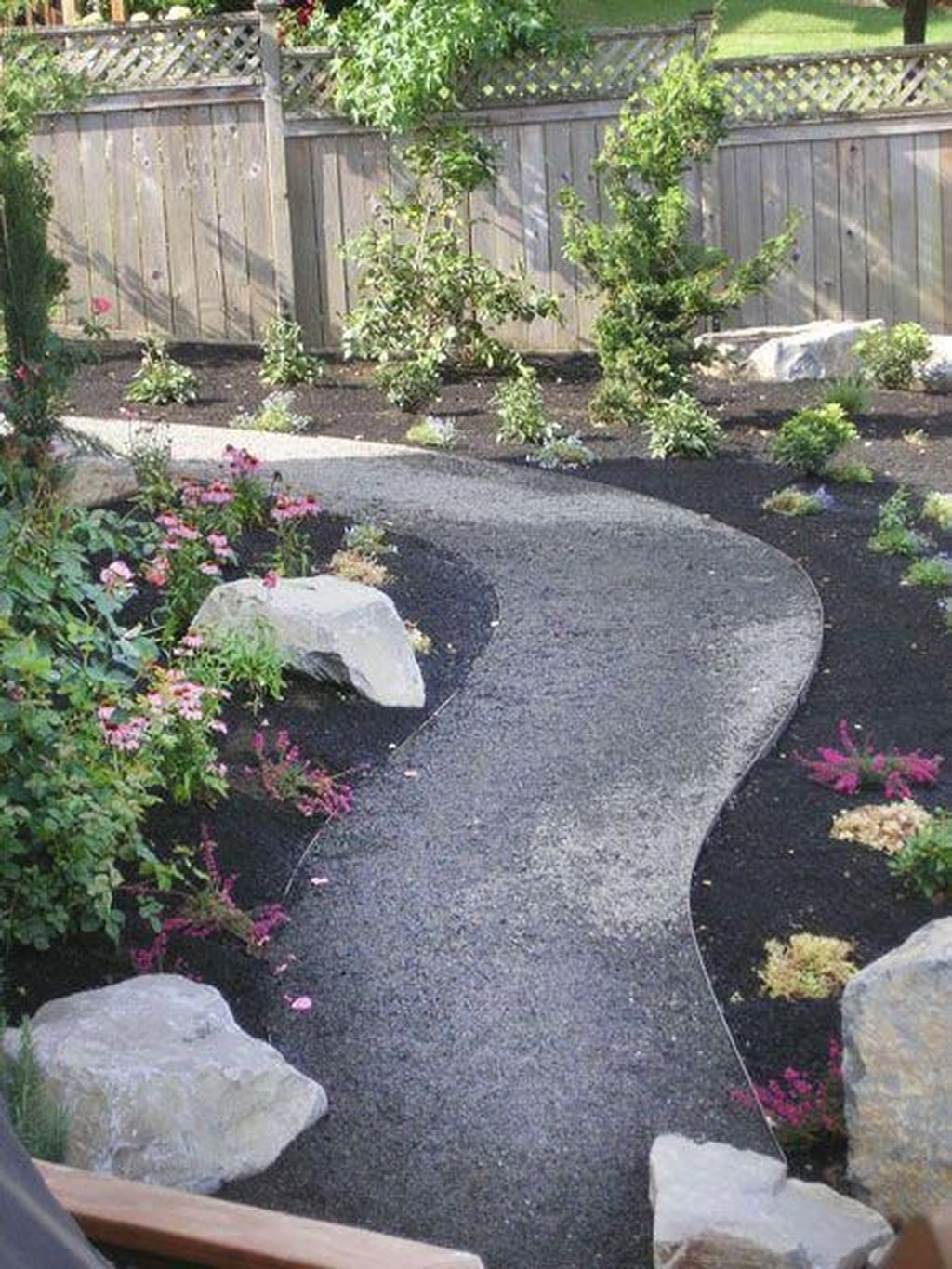 Classy Garden Path And Walkway Design And Remodel Ideas 31