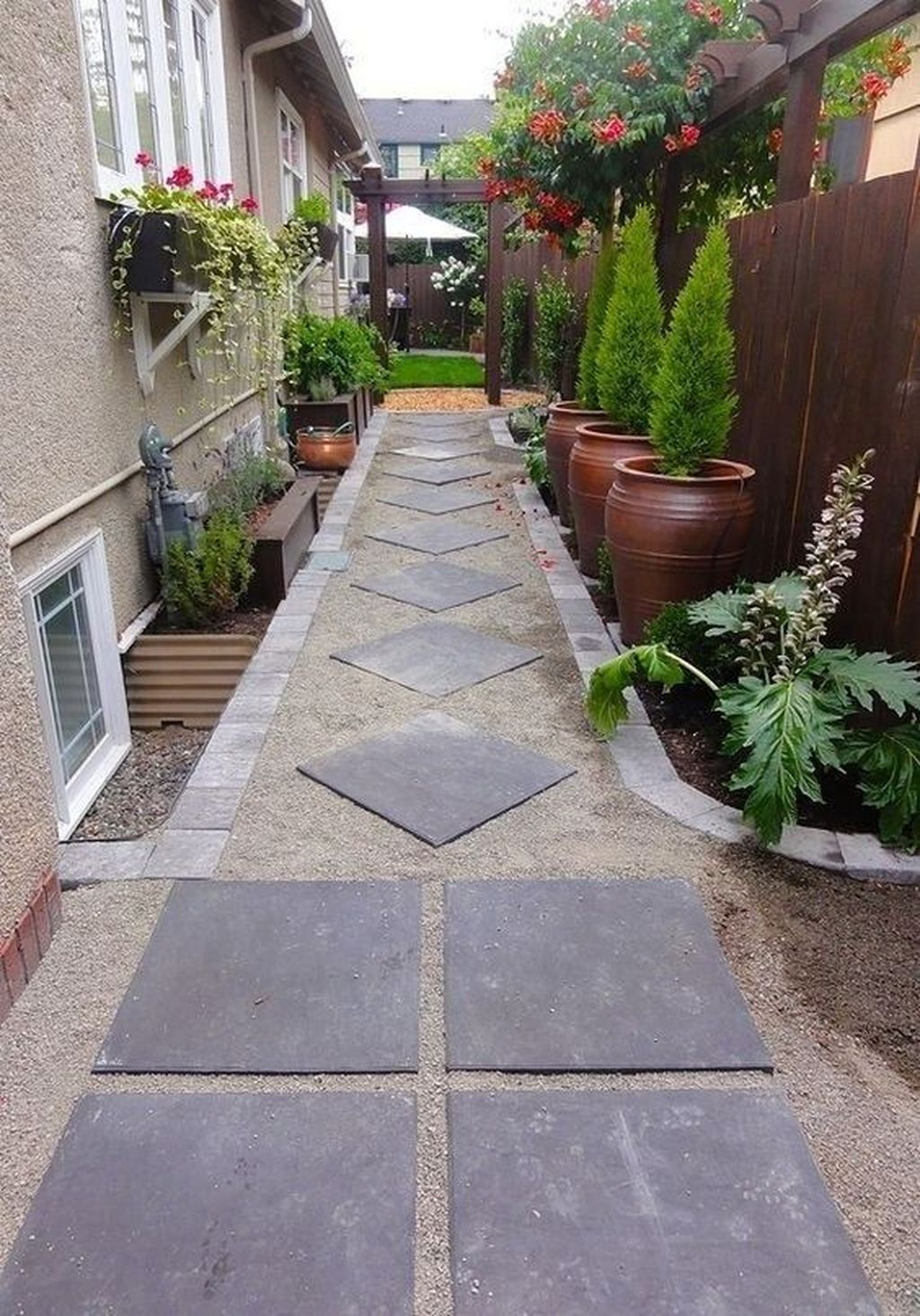 Classy Garden Path And Walkway Design And Remodel Ideas 40