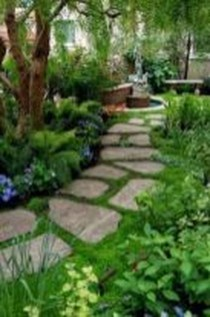 Classy Garden Path And Walkway Design And Remodel Ideas 41