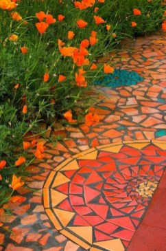Classy Garden Path And Walkway Design And Remodel Ideas 44