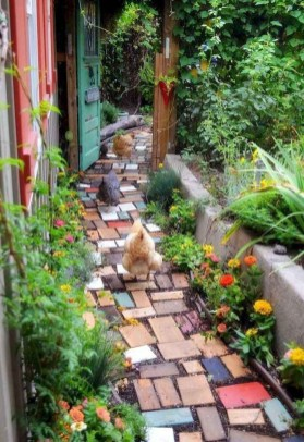Classy Garden Path And Walkway Design And Remodel Ideas 53
