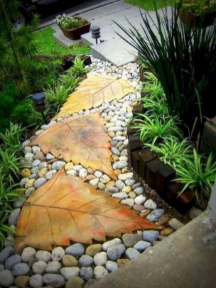 Classy Garden Path And Walkway Design And Remodel Ideas 54