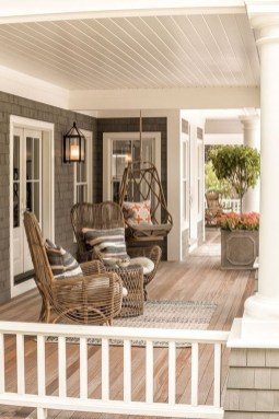 Cozy Small Porch Design Ideas To Try Right Now 19