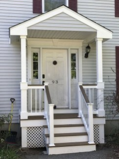 Cozy Small Porch Design Ideas To Try Right Now 26