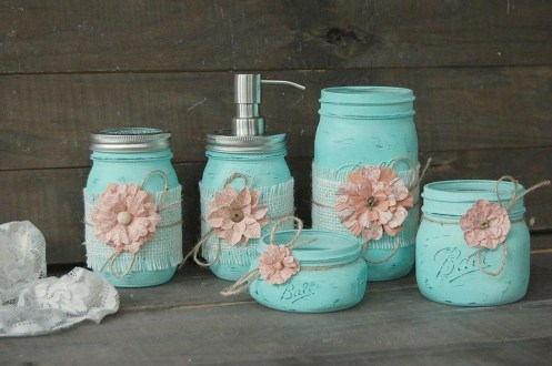 Inspiring Bathroom Decor Ideas With Turquoise Color To Consider 06