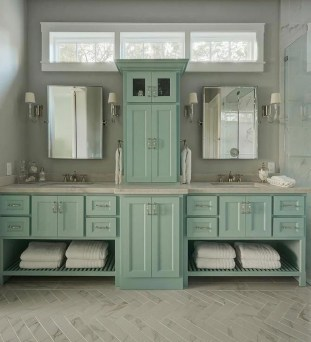 Inspiring Bathroom Decor Ideas With Turquoise Color To Consider 27