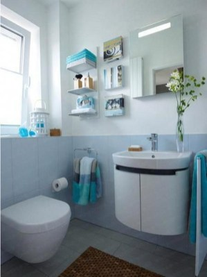 Inspiring Bathroom Decor Ideas With Turquoise Color To Consider 35