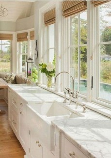 Magnificient Kitchen Cabinet Curtain Ideas To Look Stunning 09