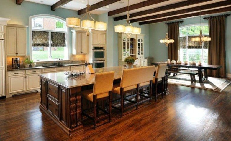 Magnificient Kitchen Cabinet Curtain Ideas To Look Stunning 18