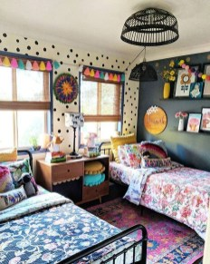 Modern Colorful Bedroom Décor Ideas For Kids 28
