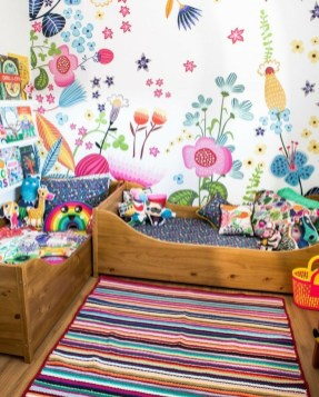 Modern Colorful Bedroom Décor Ideas For Kids 34