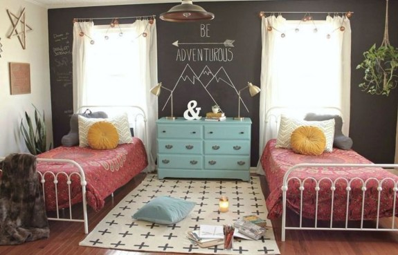 Modern Colorful Bedroom Décor Ideas For Kids 44
