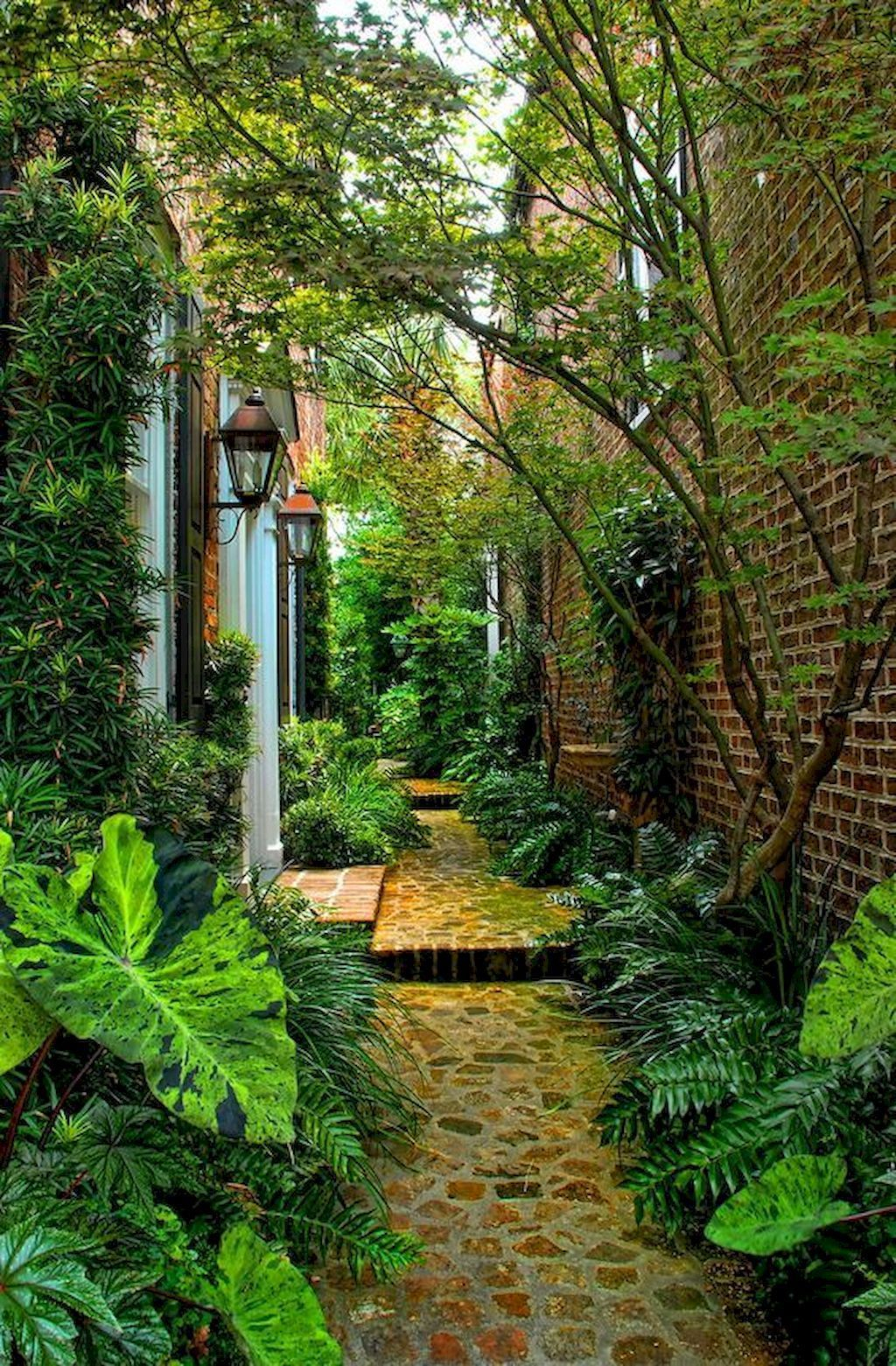 Rustic Side Yard Garden Design And Remodel Ideas 02