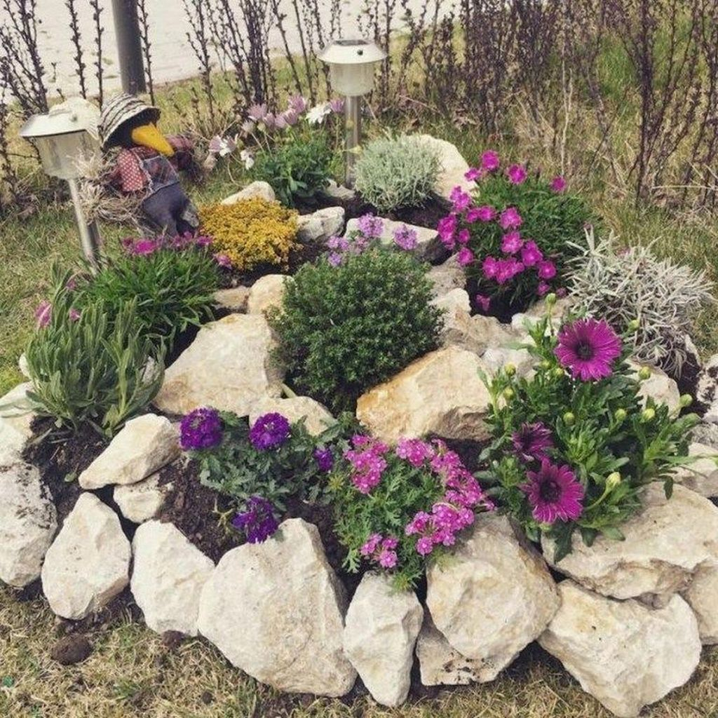 Rustic Side Yard Garden Design And Remodel Ideas 12