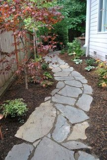 Rustic Side Yard Garden Design And Remodel Ideas 39