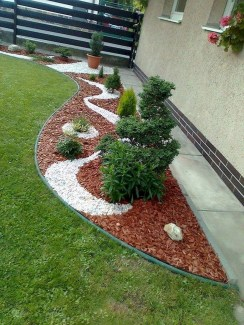 Rustic Side Yard Garden Design And Remodel Ideas 40