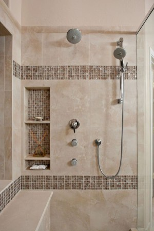 Spectacular Bathroom Tile Shower Ideas That Looks Cool 42