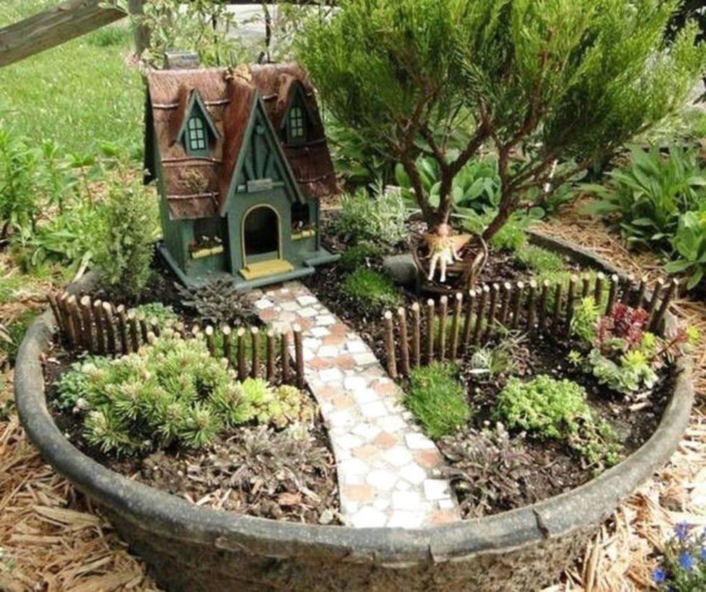 Stunning Diy Fairy Garden Design Ideas To Try This Year 42
