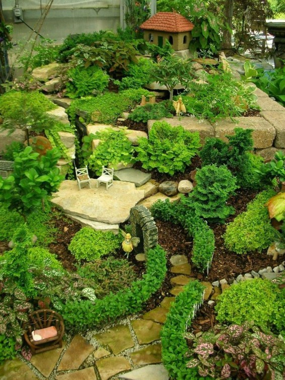 Stunning Diy Fairy Garden Design Ideas To Try This Year 54