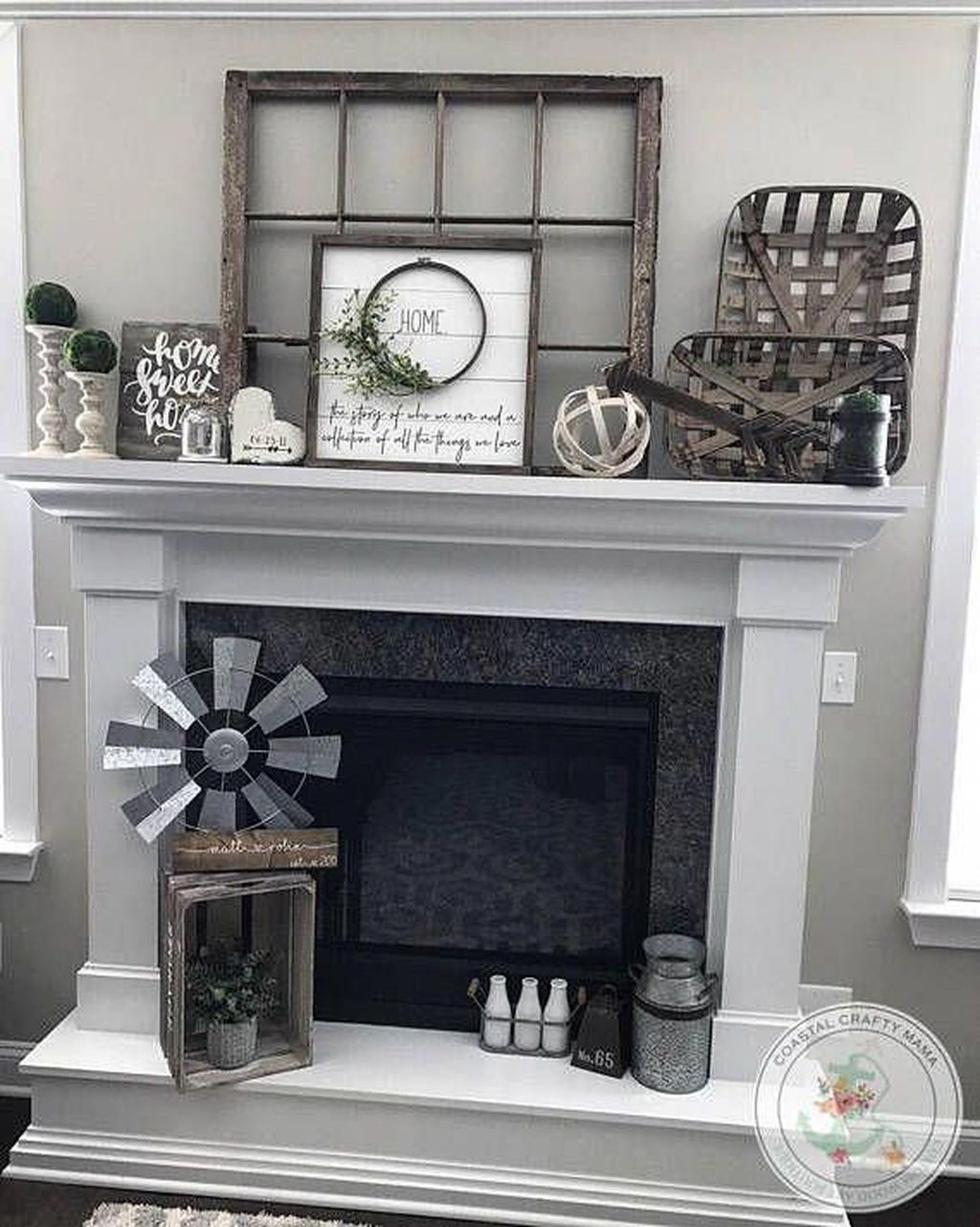 Admiring Fireplace Décor Ideas For Cottage To Try 11