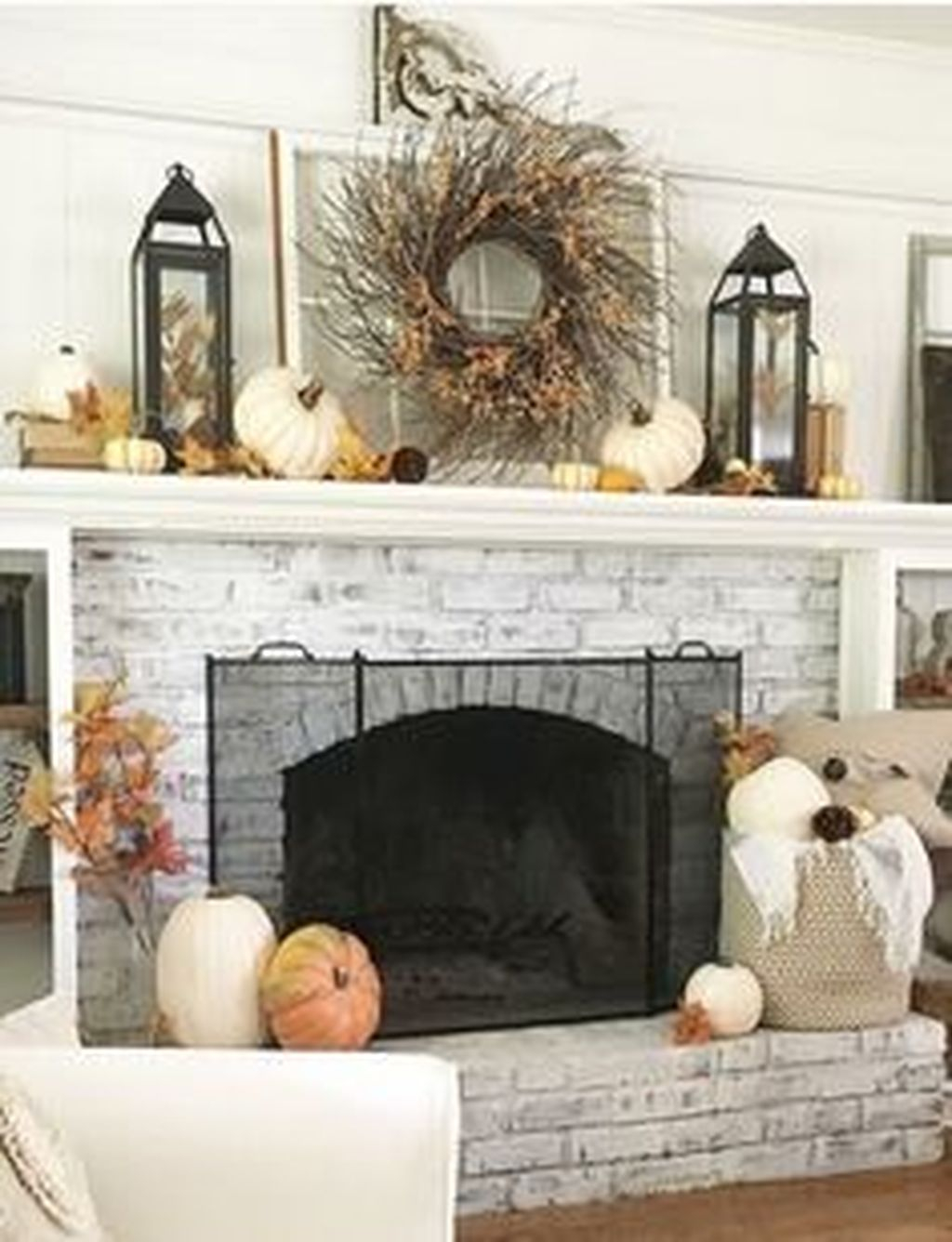 Admiring Fireplace Décor Ideas For Cottage To Try 14
