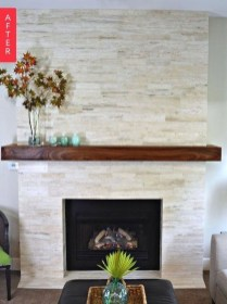 Admiring Fireplace Décor Ideas For Cottage To Try 23