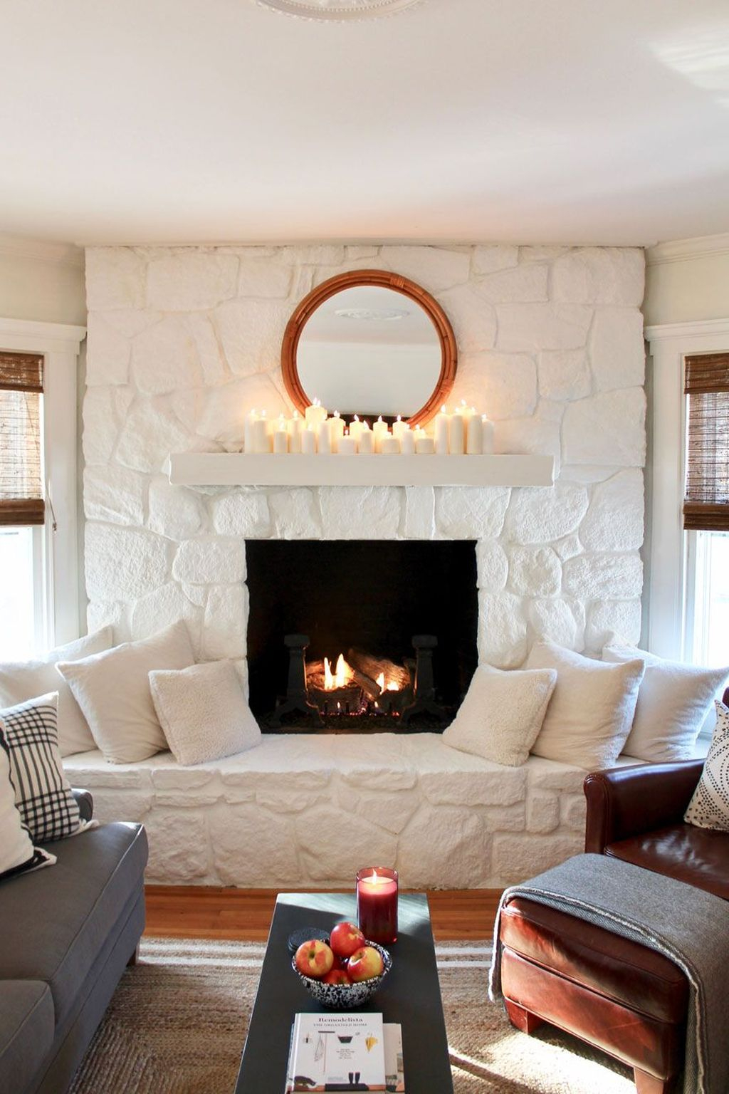 Admiring Fireplace Décor Ideas For Cottage To Try 30