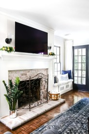 Admiring Fireplace Décor Ideas For Cottage To Try 32