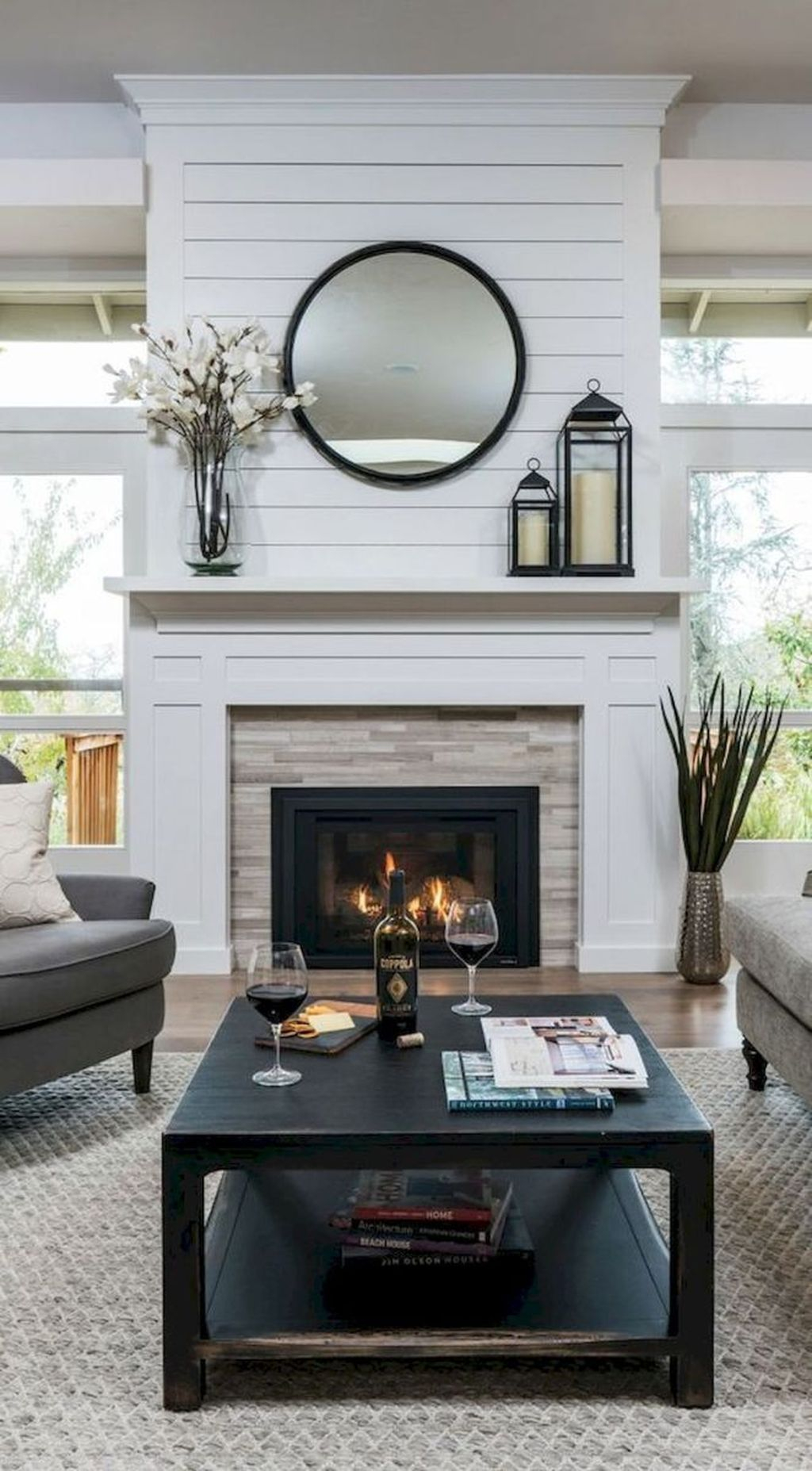 Admiring Fireplace Décor Ideas For Cottage To Try 45